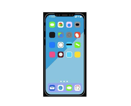Entorno integrado en su smartphone