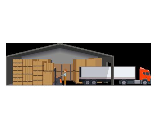 Parametrización de almacenes y zonas